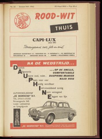 Programmaboekjes (vanaf 1934) 1962-03-25