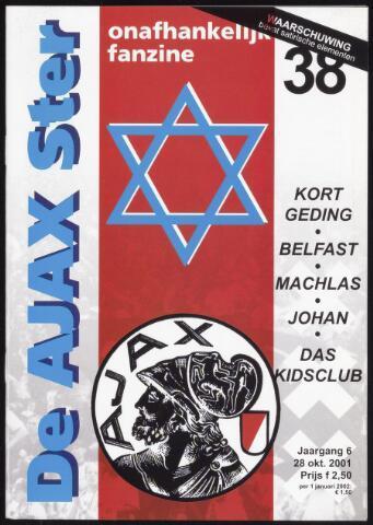 Fanzine De Ajax Ster (1996-2001) 2001-10-28