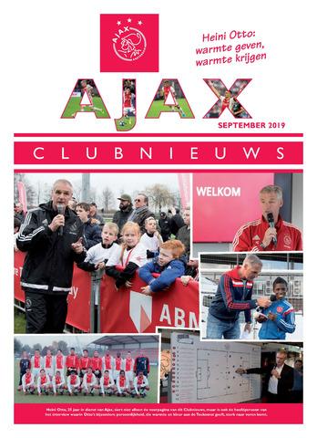 Clubnieuws Ajax (vanaf 1916) 2019-09-01