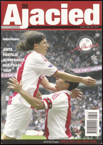 Clubblad De Ajacied (1997-2009) 2009