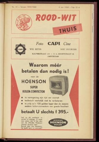 Programmaboekjes (vanaf 1934) 1960-06-06