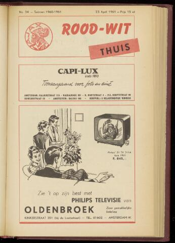 Programmaboekjes (vanaf 1934) 1961-04-23