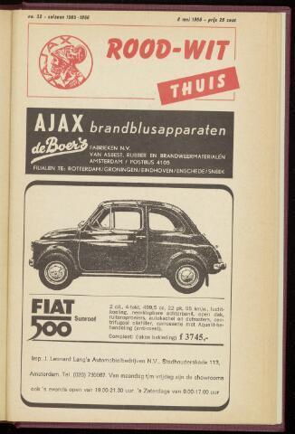 Programmaboekjes (vanaf 1934) 1966-05-08