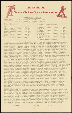 Honkbal nieuws (1963-1972) 1969-06-23