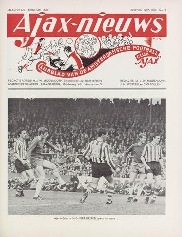 Clubnieuws Ajax (vanaf 1916) 1968-04-01