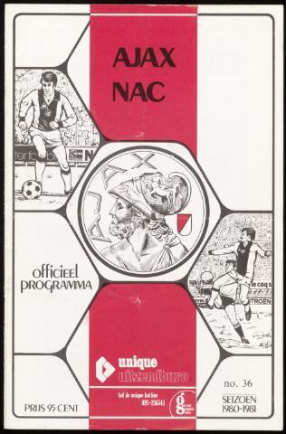 Programmaboekjes (vanaf 1934) 1981-05-12