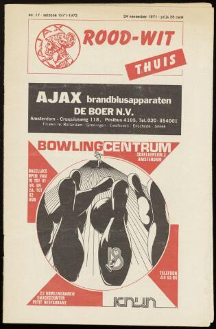 Programmaboekjes (vanaf 1934) 1971-11-24