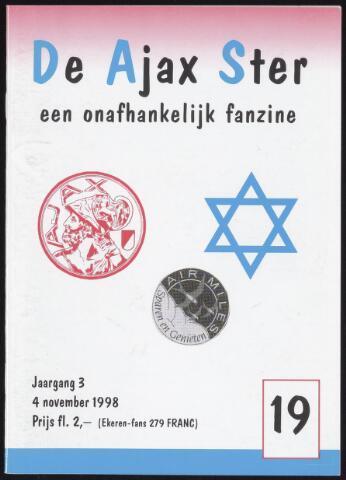 Fanzine De Ajax Ster (1996-2001) 1998-11-04