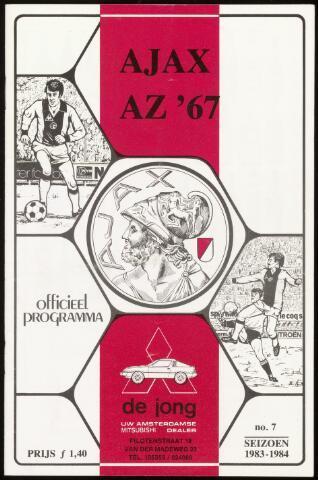 Programmaboekjes (vanaf 1934) 1983-10-30