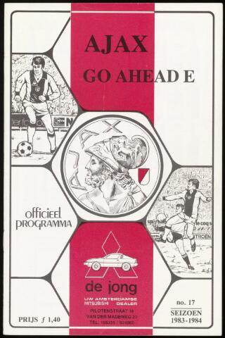 Programmaboekjes (vanaf 1934) 1984-04-08