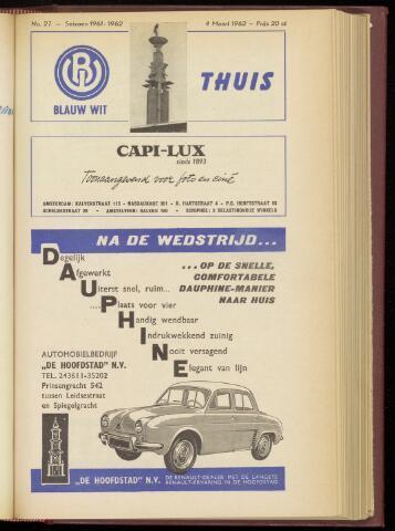 Programmaboekjes (vanaf 1934) 1962-03-04
