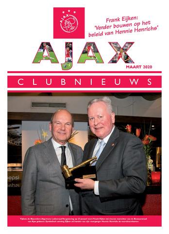Clubnieuws Ajax (vanaf 1916) 2020-03-01