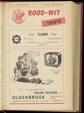 Programmaboekjes (vanaf 1934) 1960-11-27