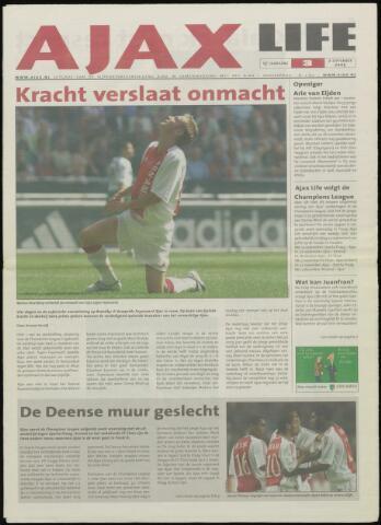Ajax Life (vanaf 1994) 2005-09-02
