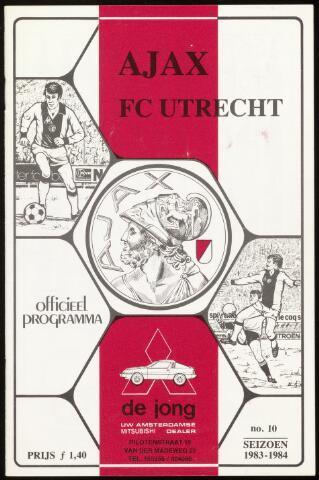 Programmaboekjes (vanaf 1934) 1984-01-15