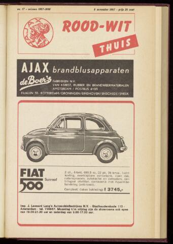 Programmaboekjes (vanaf 1934) 1967-11-08