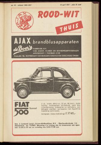 Programmaboekjes (vanaf 1934) 1967-04-18