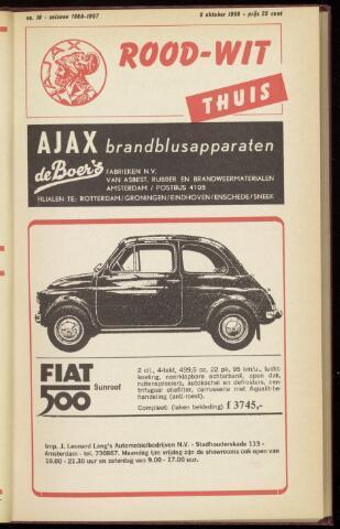 Programmaboekjes (vanaf 1934) 1966-10-09