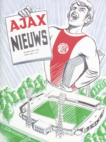 Clubnieuws Ajax (vanaf 1916) 1977-04-01