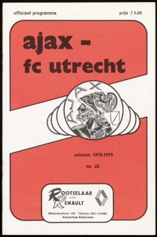 Programmaboekjes (vanaf 1934) 1979-03-25