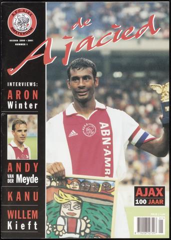 Clubblad De Ajacied (1997-2009) 2000-09-01