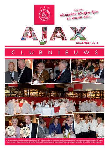 Clubnieuws Ajax (vanaf 1916) 2012-12-01