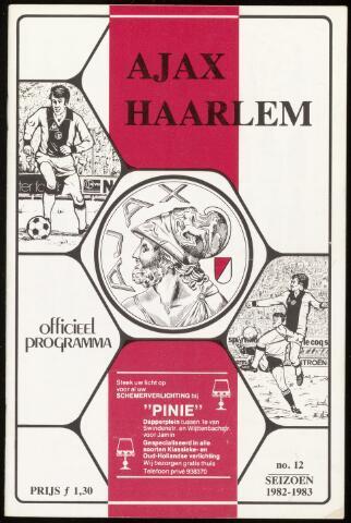 Programmaboekjes (vanaf 1934) 1983-01-30