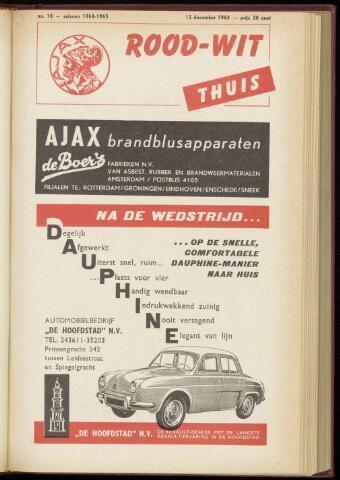 Programmaboekjes (vanaf 1934) 1964-12-13