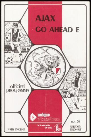 Programmaboekjes (vanaf 1934) 1981-02-01