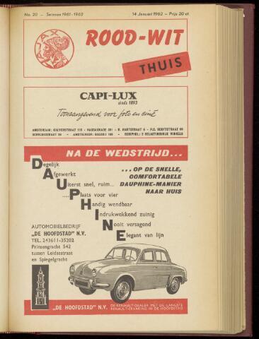 Programmaboekjes (vanaf 1934) 1962-01-14