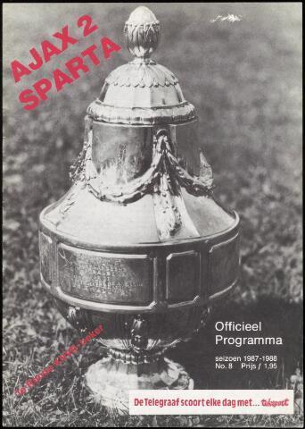 Programmaboekjes (vanaf 1934) 1987-10-11