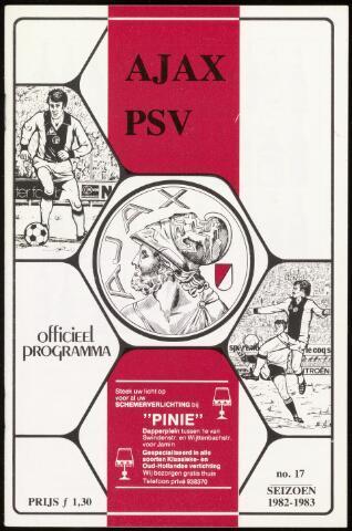 Programmaboekjes (vanaf 1934) 1983-03-30