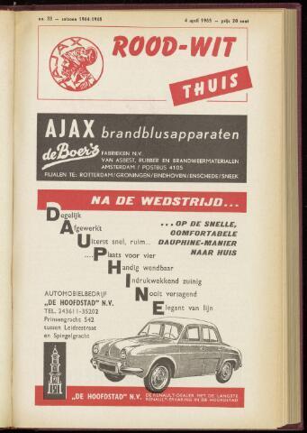 Programmaboekjes (vanaf 1934) 1965-04-04
