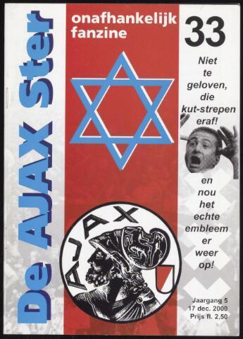 Fanzine De Ajax Ster (1996-2001) 2000-12-17