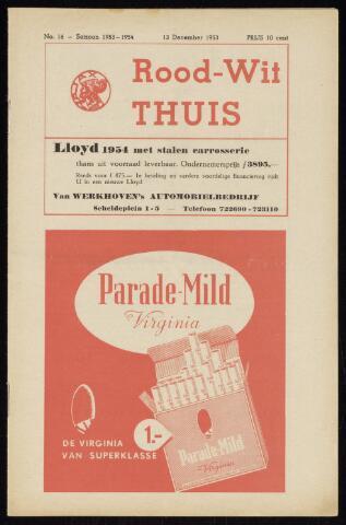 Programmaboekjes (vanaf 1934) 1953-12-13