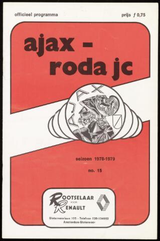 Programmaboekjes (vanaf 1934) 1978-11-12