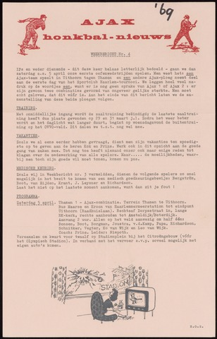 Honkbal nieuws (1963-1972) 1969-03-31
