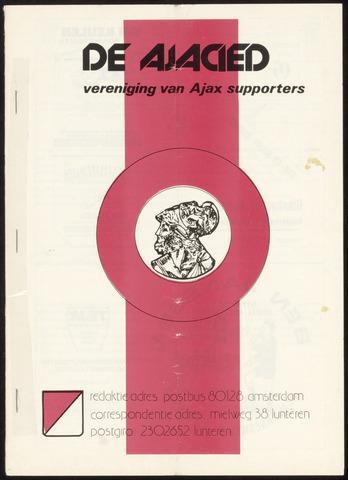 Clubblad De Ajacied (1997-2009) 1978-02-06