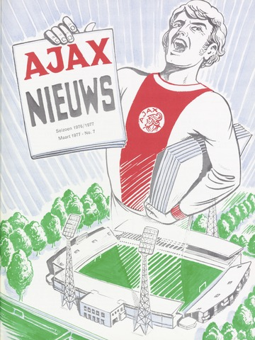 Clubnieuws Ajax (vanaf 1916) 1977-03-01