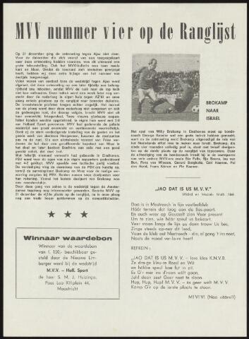 Programmaboekjes (vanaf 1934) 1970-02-01