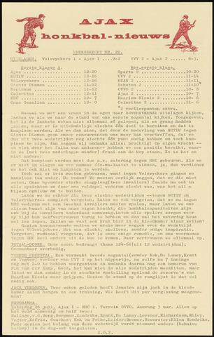 Honkbal nieuws (1963-1972) 1969-07-21