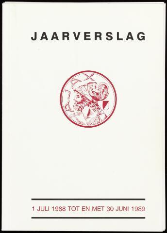 Jaarverslagen Vereniging (vanaf 1964) 1989-06-30