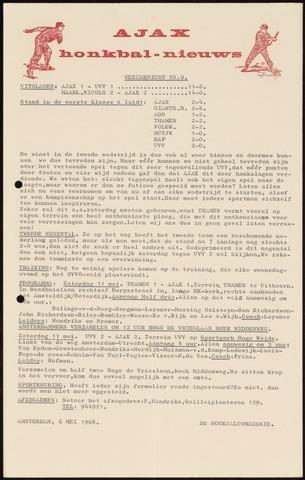 Honkbal nieuws (1963-1972) 1968-05-06