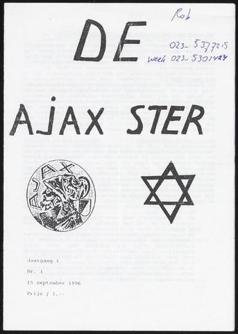Fanzine De Ajax Ster (1996-2001) 1996