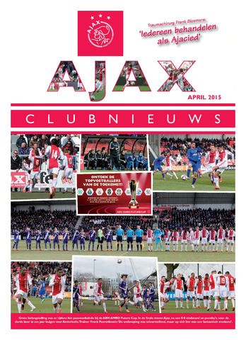Clubnieuws Ajax (vanaf 1916) 2015-04-01