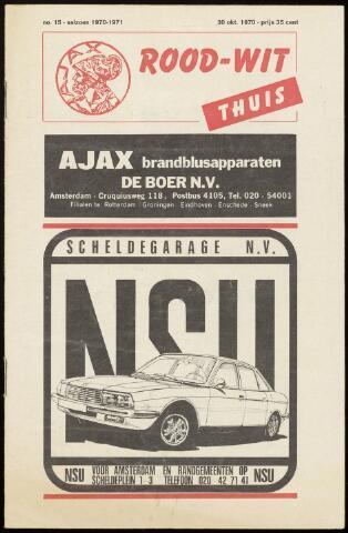 Programmaboekjes (vanaf 1934) 1970-10-30