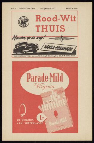 Programmaboekjes (vanaf 1934) 1953-09-13