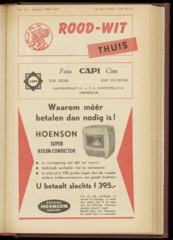 Programmaboekjes (vanaf 1934) 1960-04-18