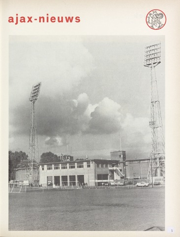 Clubnieuws Ajax (vanaf 1916) 1974-12-01