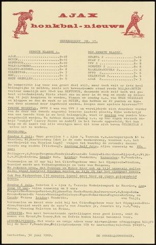 Honkbal nieuws (1963-1972) 1969-06-30